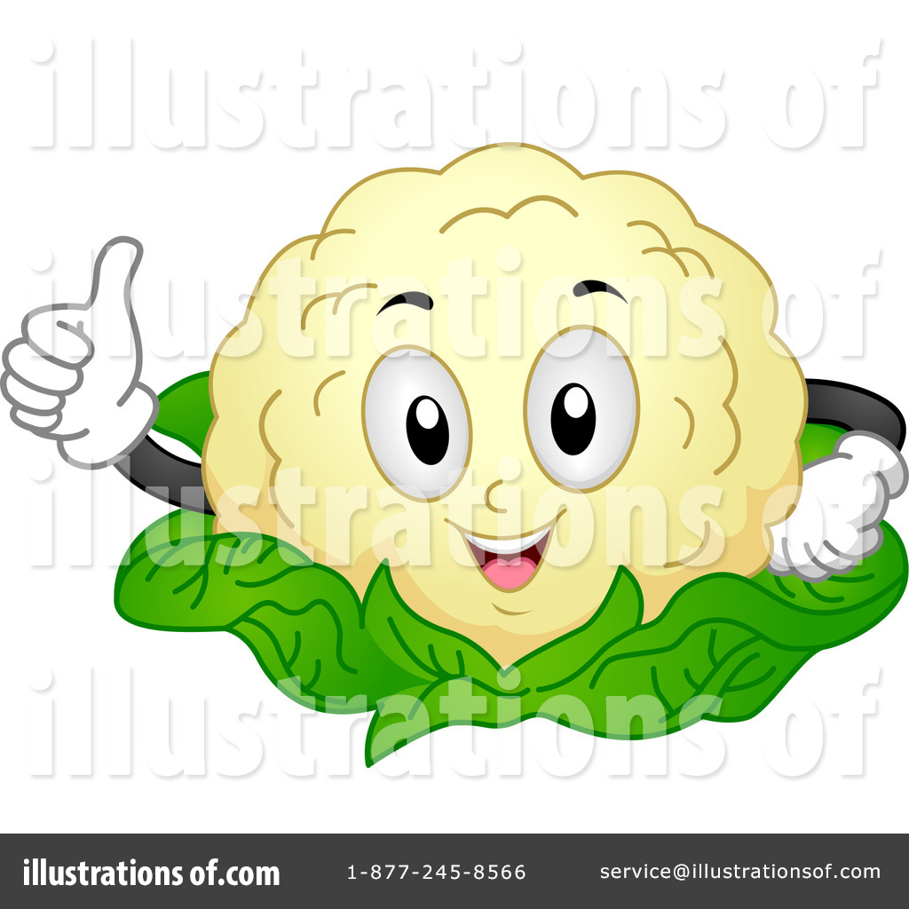 Royalty-Free (RF) Cauliflower Clipart Illustration #1117298 by BNP ...