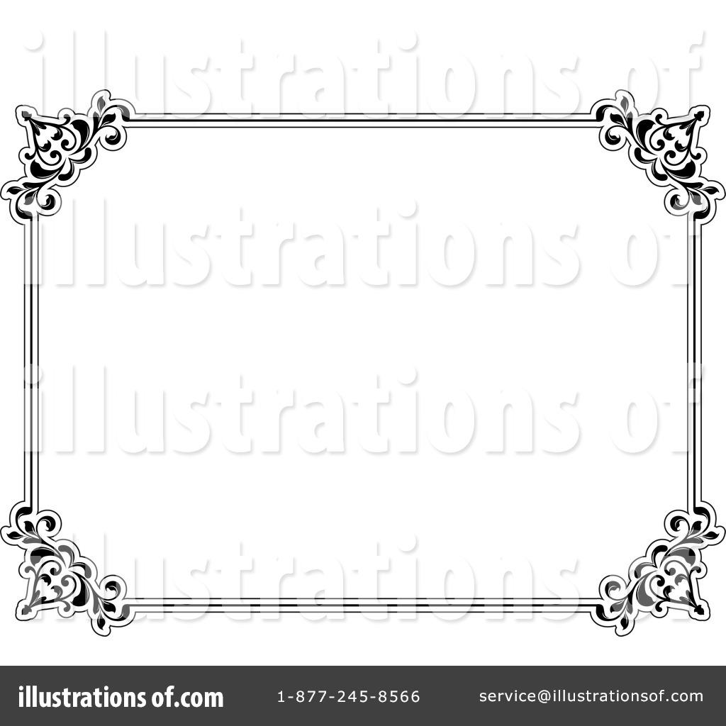 Certificate Clipart #1056517 - Illustration by KJ Pargeter