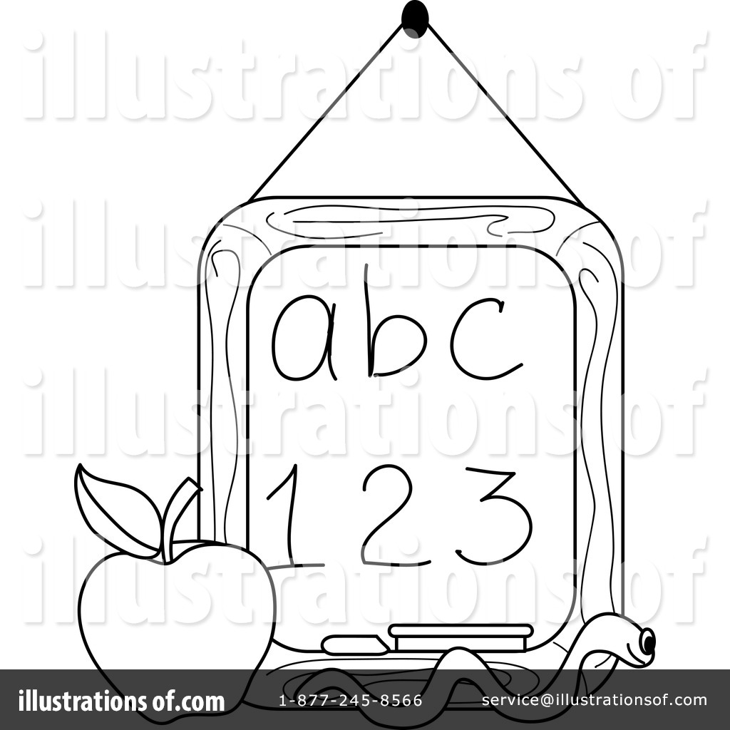 Chalkboard Clipart 1050617 Illustration By Pams Clipart