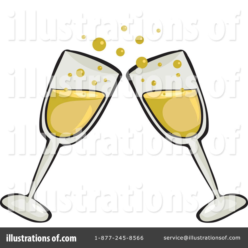 Champagne Clipart #65972 - Illustration by Prawny