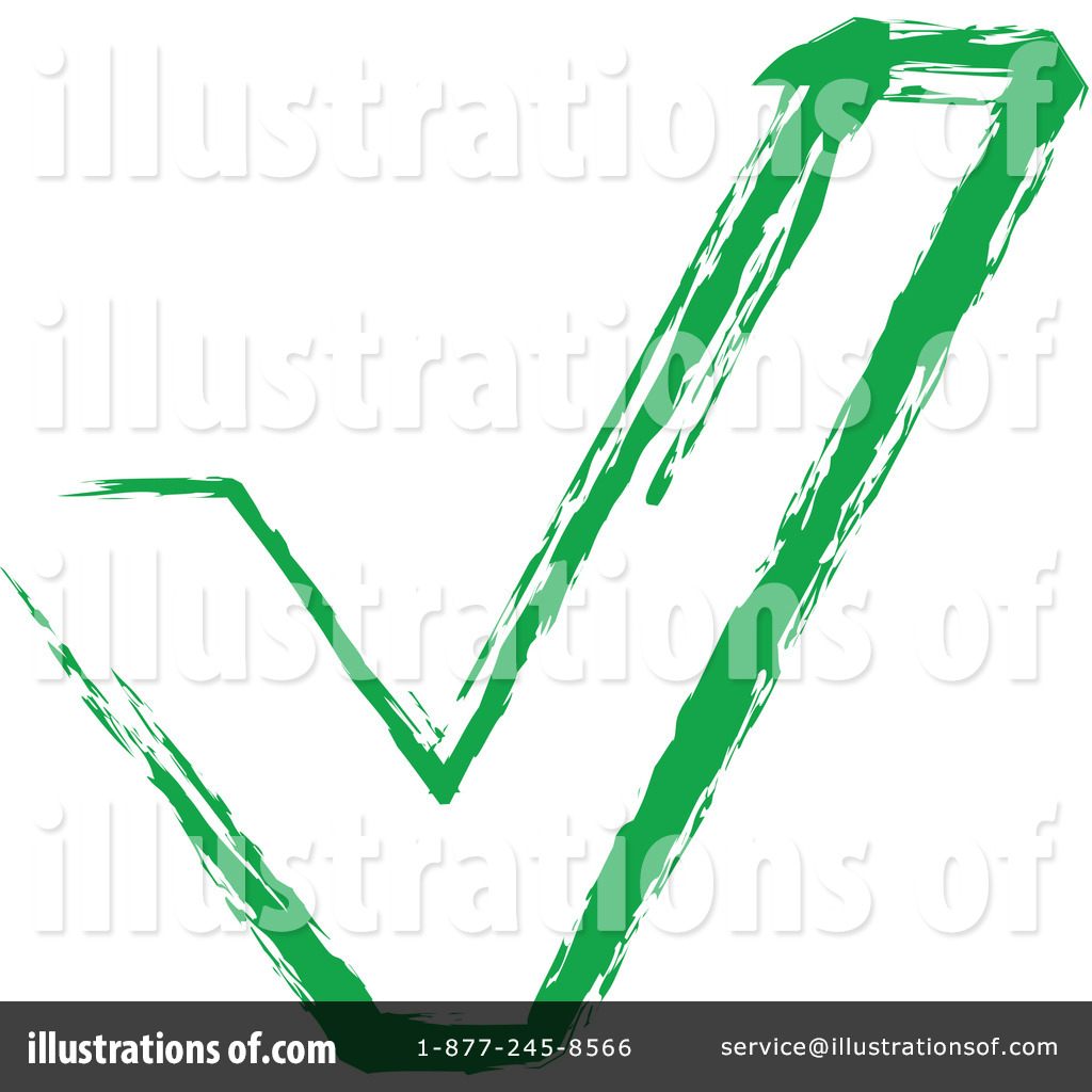 Check Mark Clipart #1066055 - Illustration by Vector Tradition SM