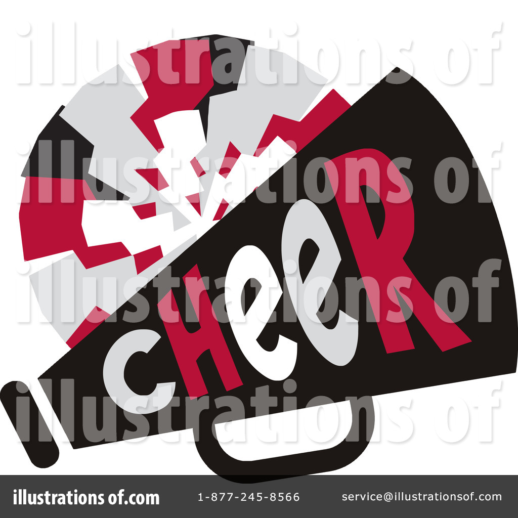 Cheerleading Clipart #1116324 - Illustration by Johnny Sajem