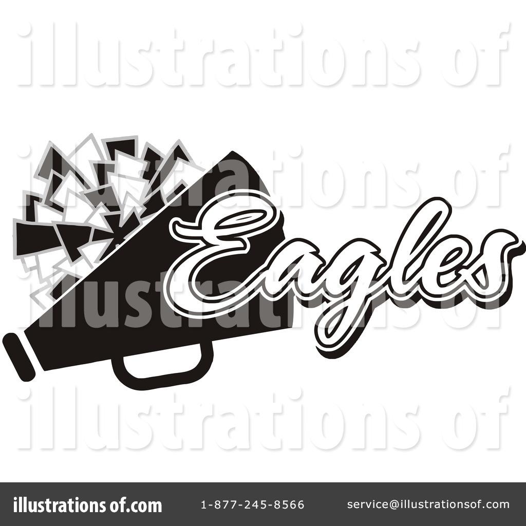 Cheerleading Clipart #1116325 - Illustration by Johnny Sajem