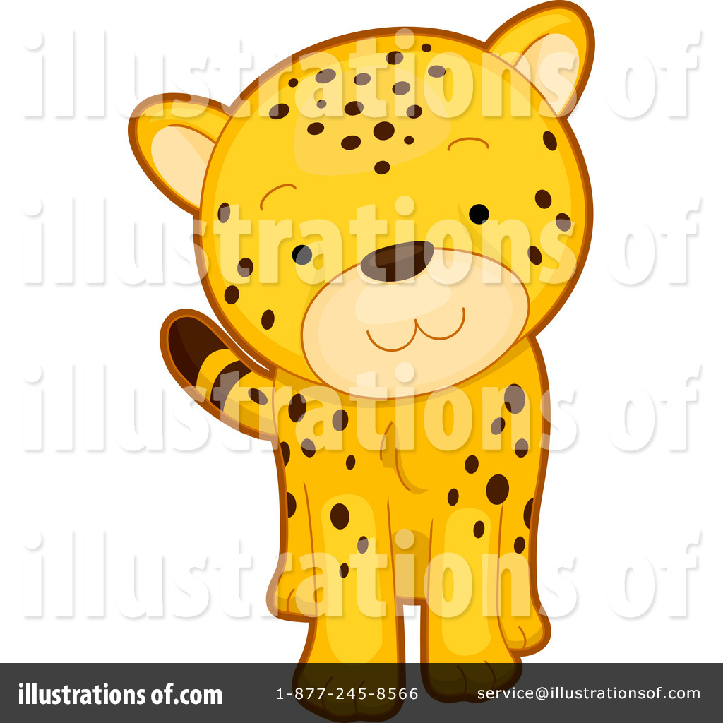 Cheetah Clipart #1117318 - Illustration by BNP Design Studio