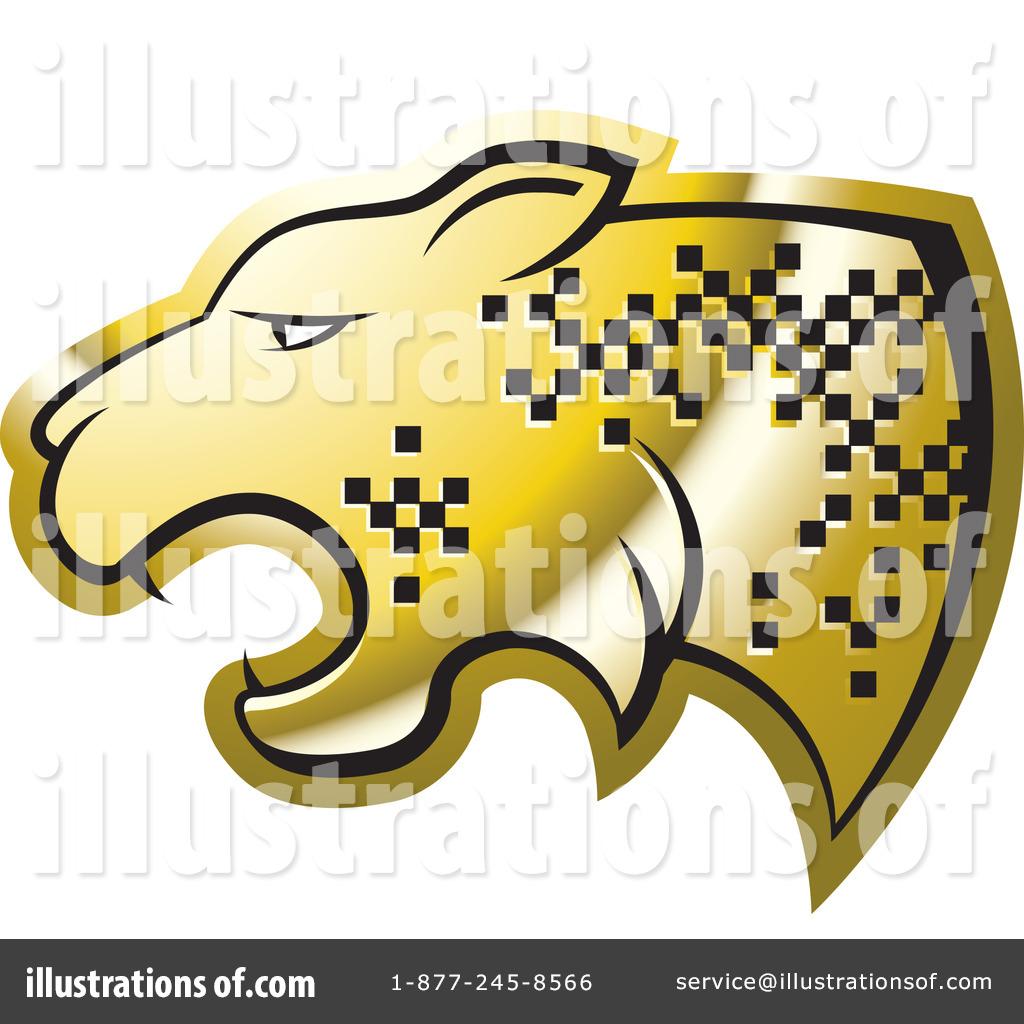 Cheetah Clipart #1186242 - Illustration by Lal Perera