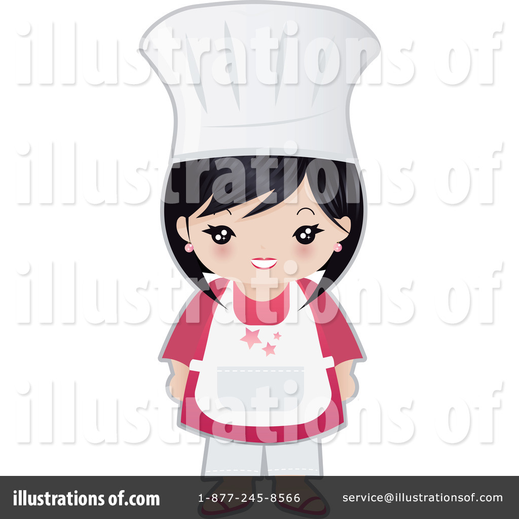 Royalty Free RF Chef Clipart Illustration 74563 By Melisende Vector