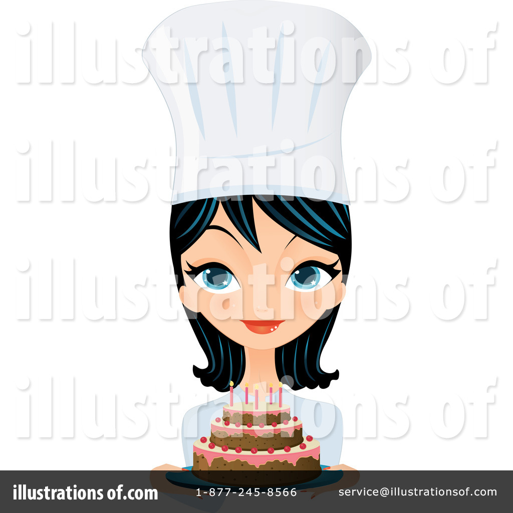 Chef Clipart #97771 - Illustration by Melisende Vector