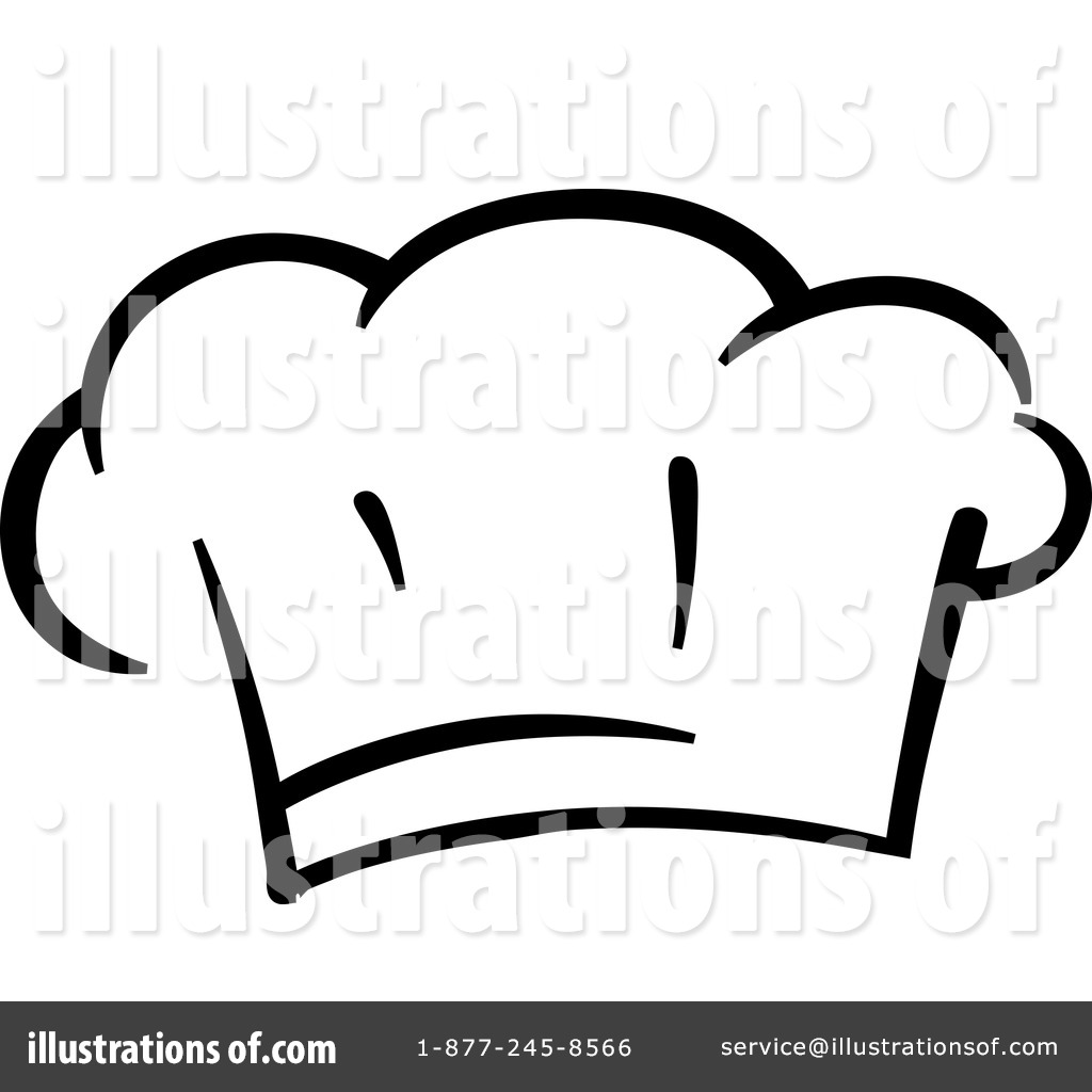 Chef Hat Clipart #1263680 - Illustration by Vector Tradition SM
