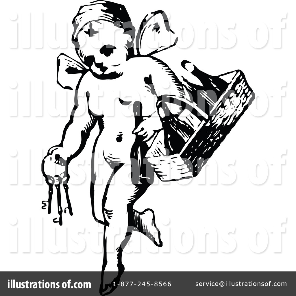 Cherub Clipart #1115777 - Illustration by Prawny Vintage