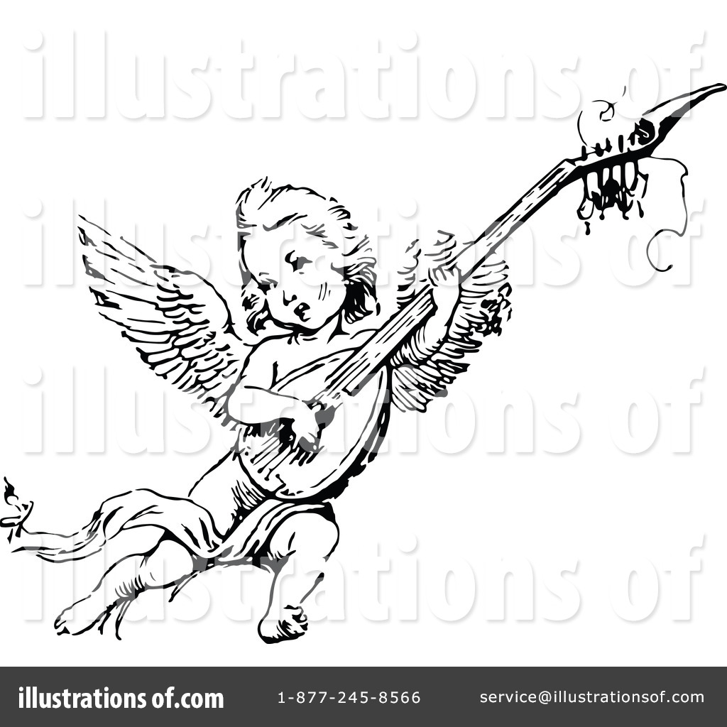 Cherub Clipart #1119402 - Illustration by Prawny Vintage