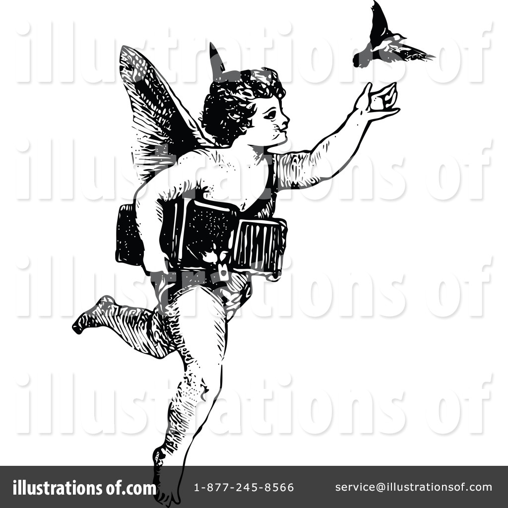 Cherub Clipart #1120873 - Illustration by Prawny Vintage