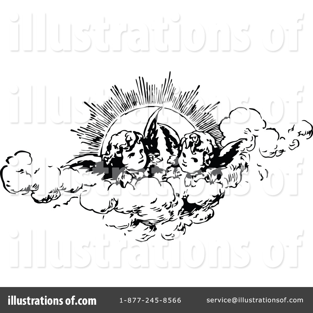 Cherubs Clipart #1112560 - Illustration by Prawny Vintage