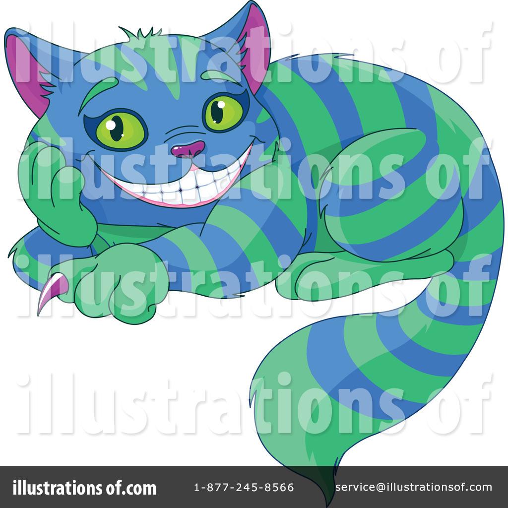 Cheshire Cat Clipart #1232501 - Illustration by Pushkin