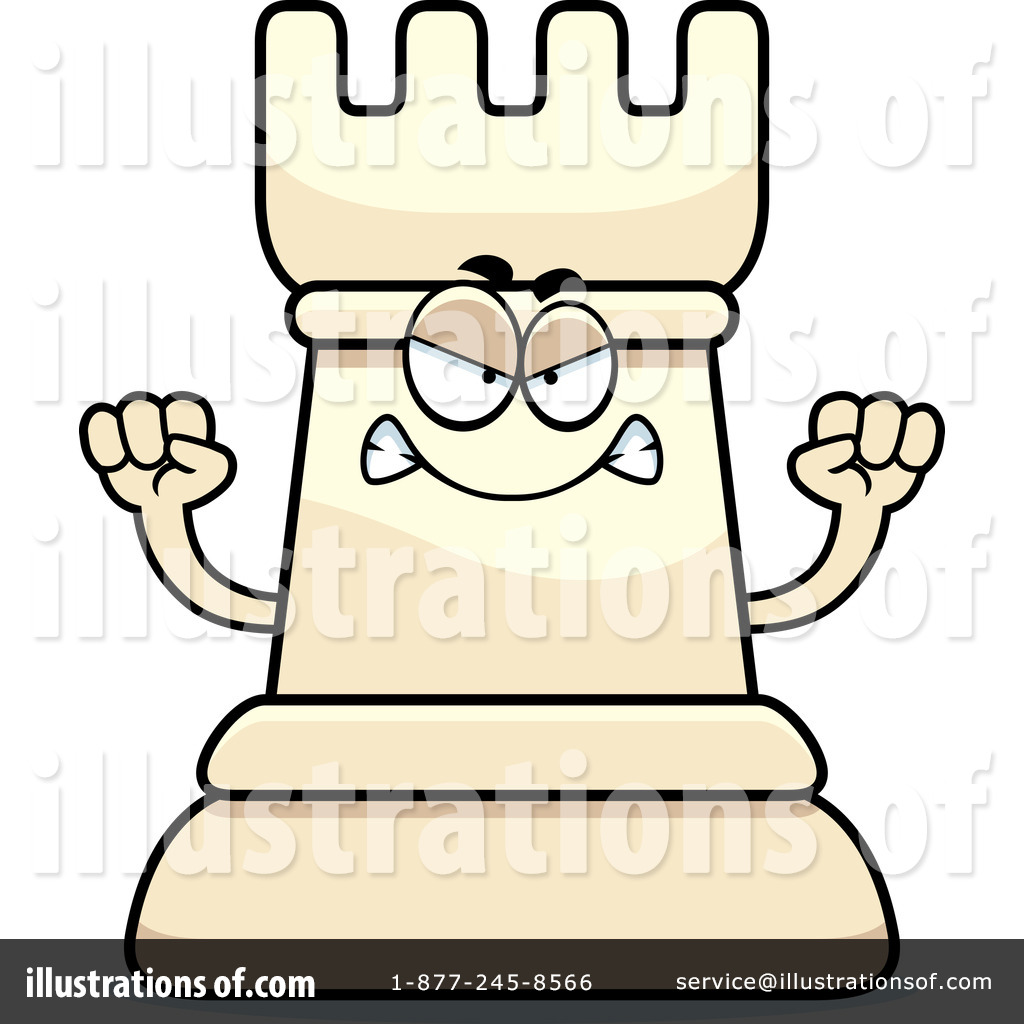 Chess Piece Clipart #1171325 - Illustration by Cory Thoman