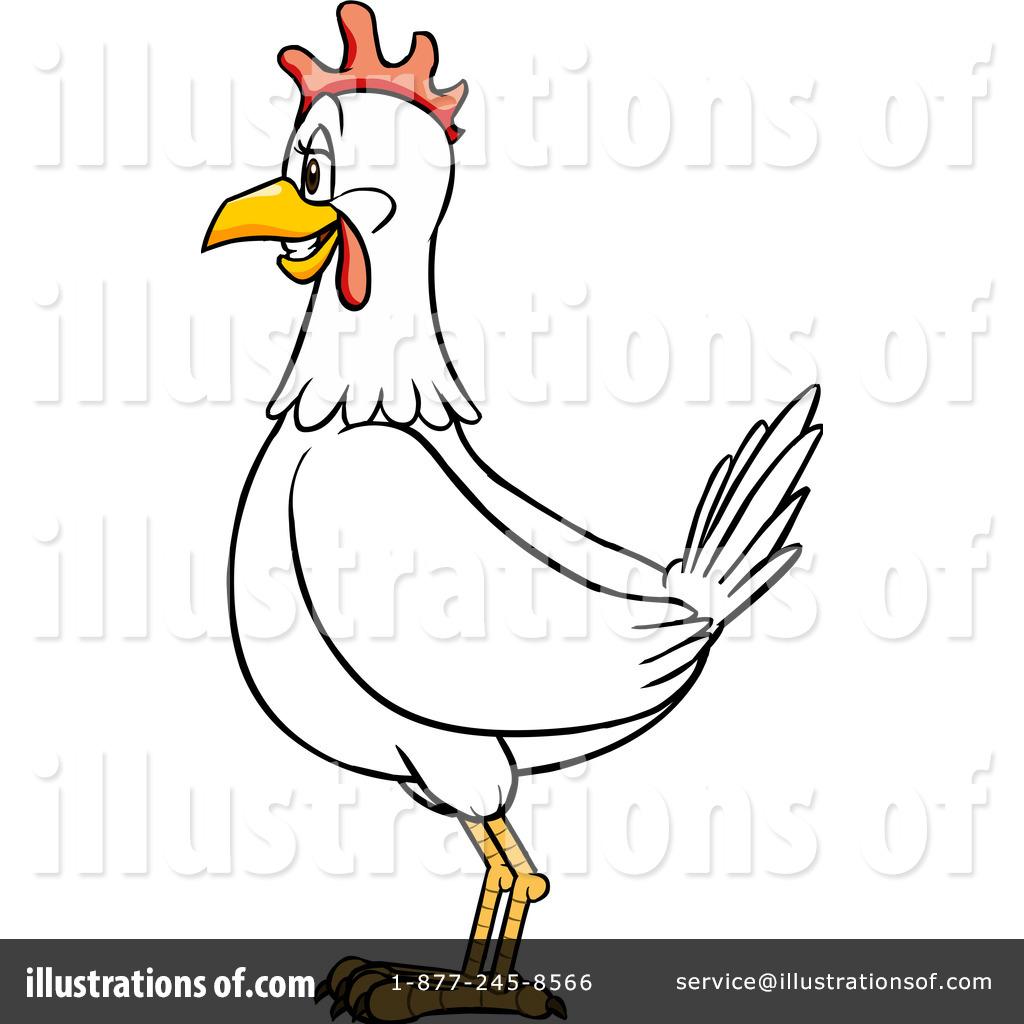 Chicken Clipart #1104828 - Illustration by Cartoon Solutions