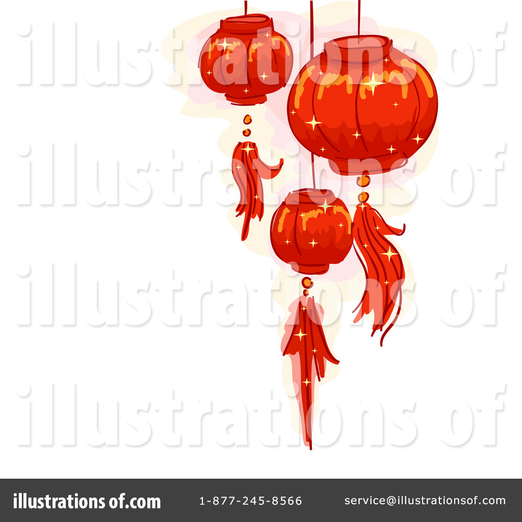 Chinese Lanterns Clipart 1163392 Illustration By Bnp