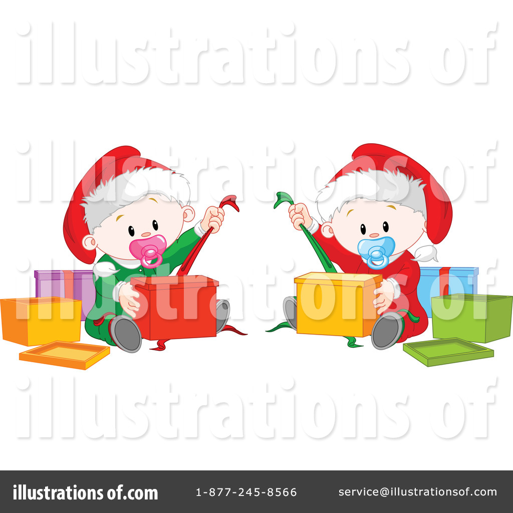 Christmas Baby Clipart #231490 - Illustration by Pushkin