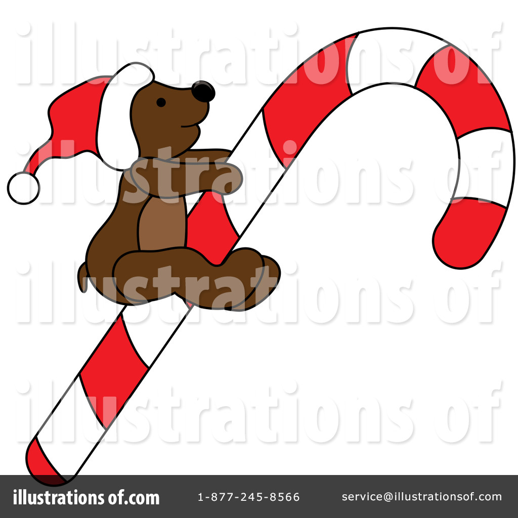 Christmas Bear Clipart #77694 - Illustration by Pams Clipart