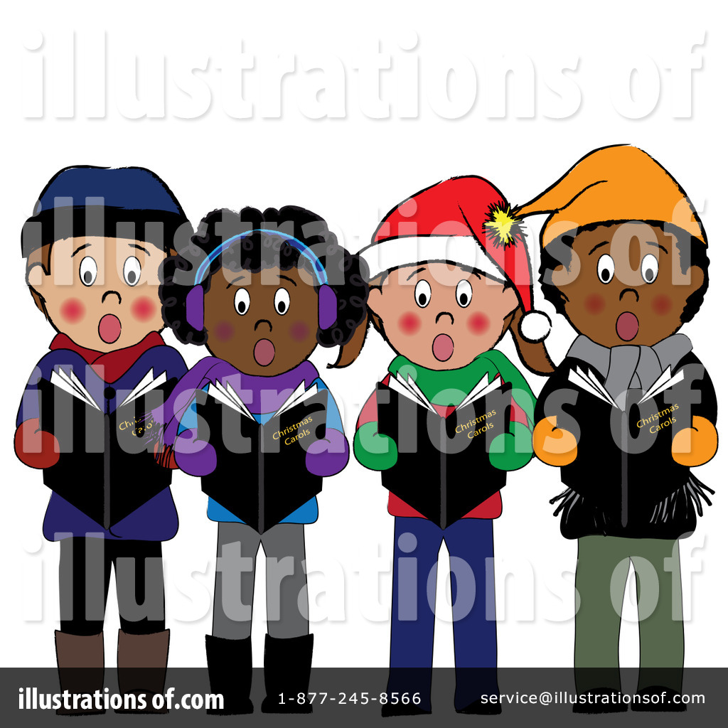 christmas caroling clipart 83331 illustration by pams clipart rh illustrationsof com christmas carolers clipart Victorian Christmas Carolers Clip Art