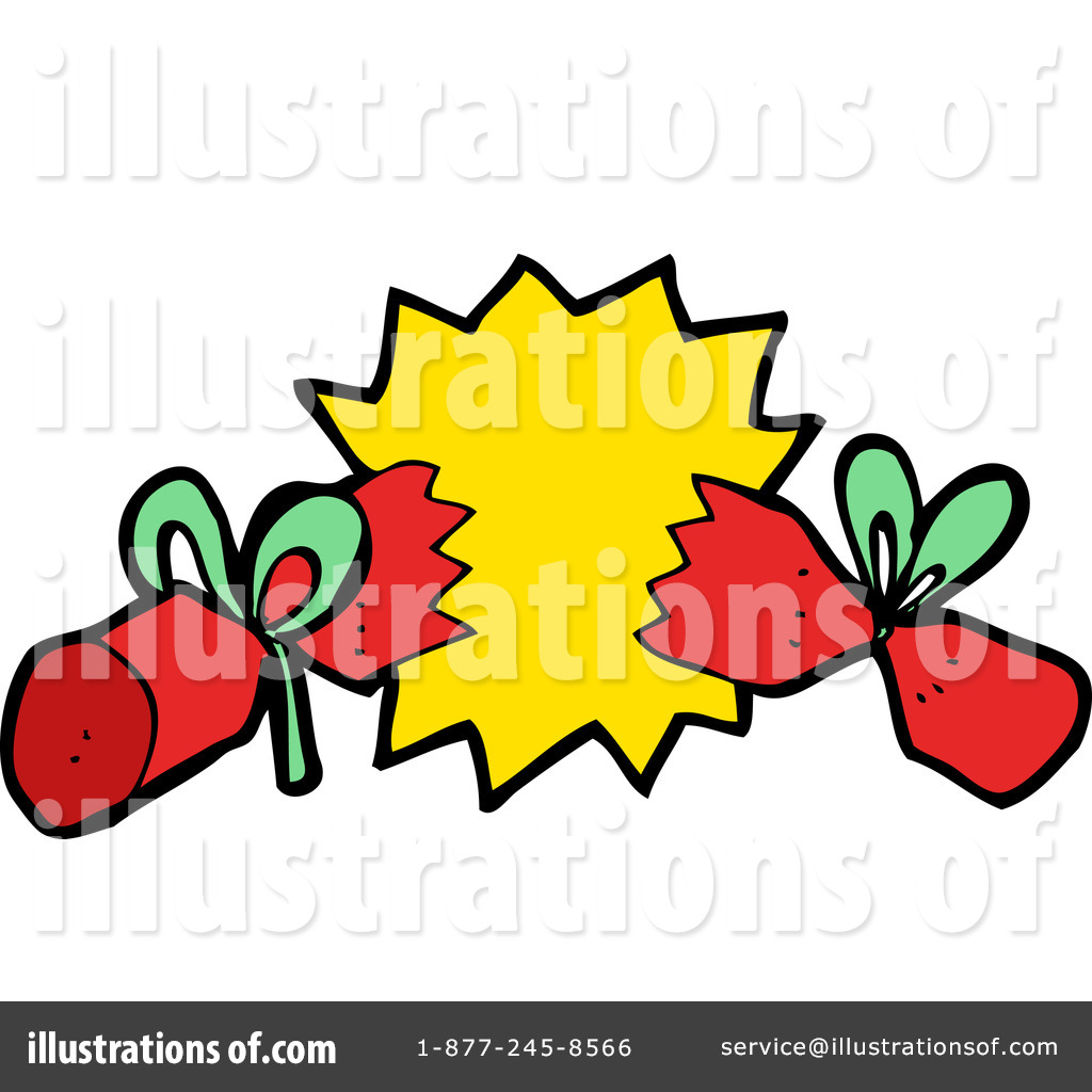 Christmas Cracker Clipart.Christmas Cracker Clipart 1194186 Illustration By