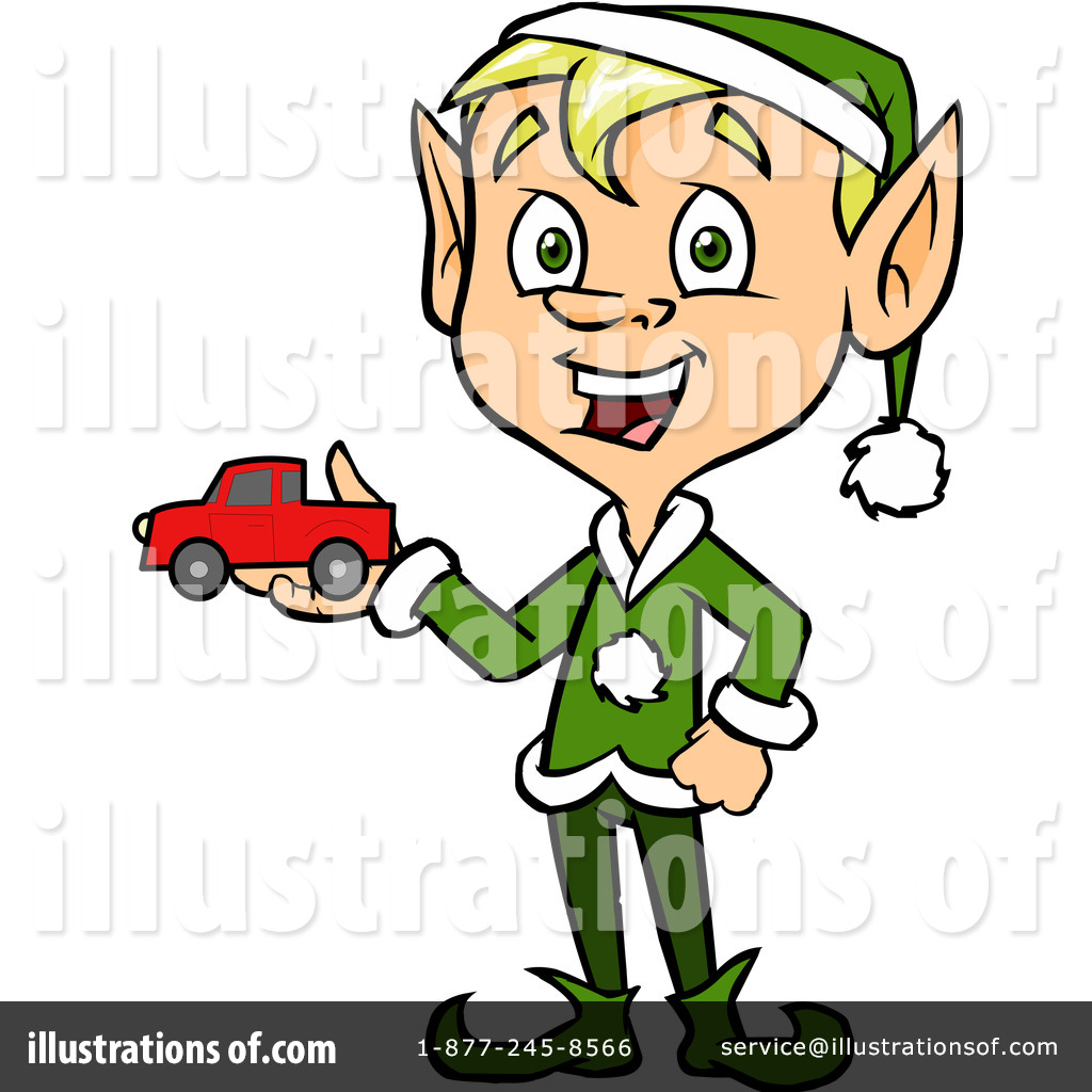 christmas elf clipart 1105141 illustration by cartoon solutions