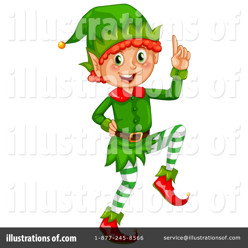 christmas elf clipart 1266348 illustration by graphics rf rh illustrationsof com free elf clipart pictures free girl elf clipart