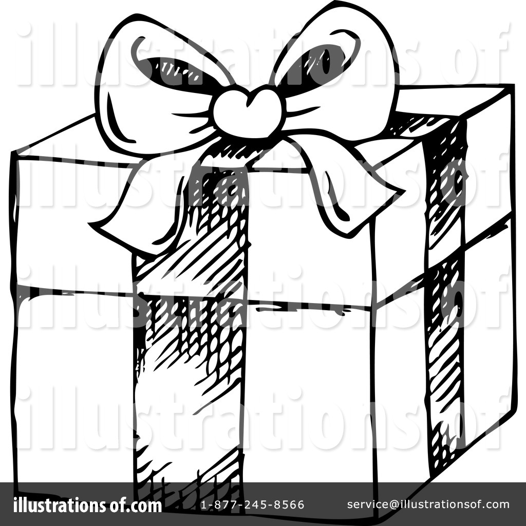 Christmas Gift Clipart #1127815 - Illustration by visekart