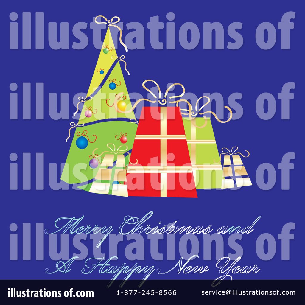 Christmas Greeting Clipart 58425 Illustration By Milsiart