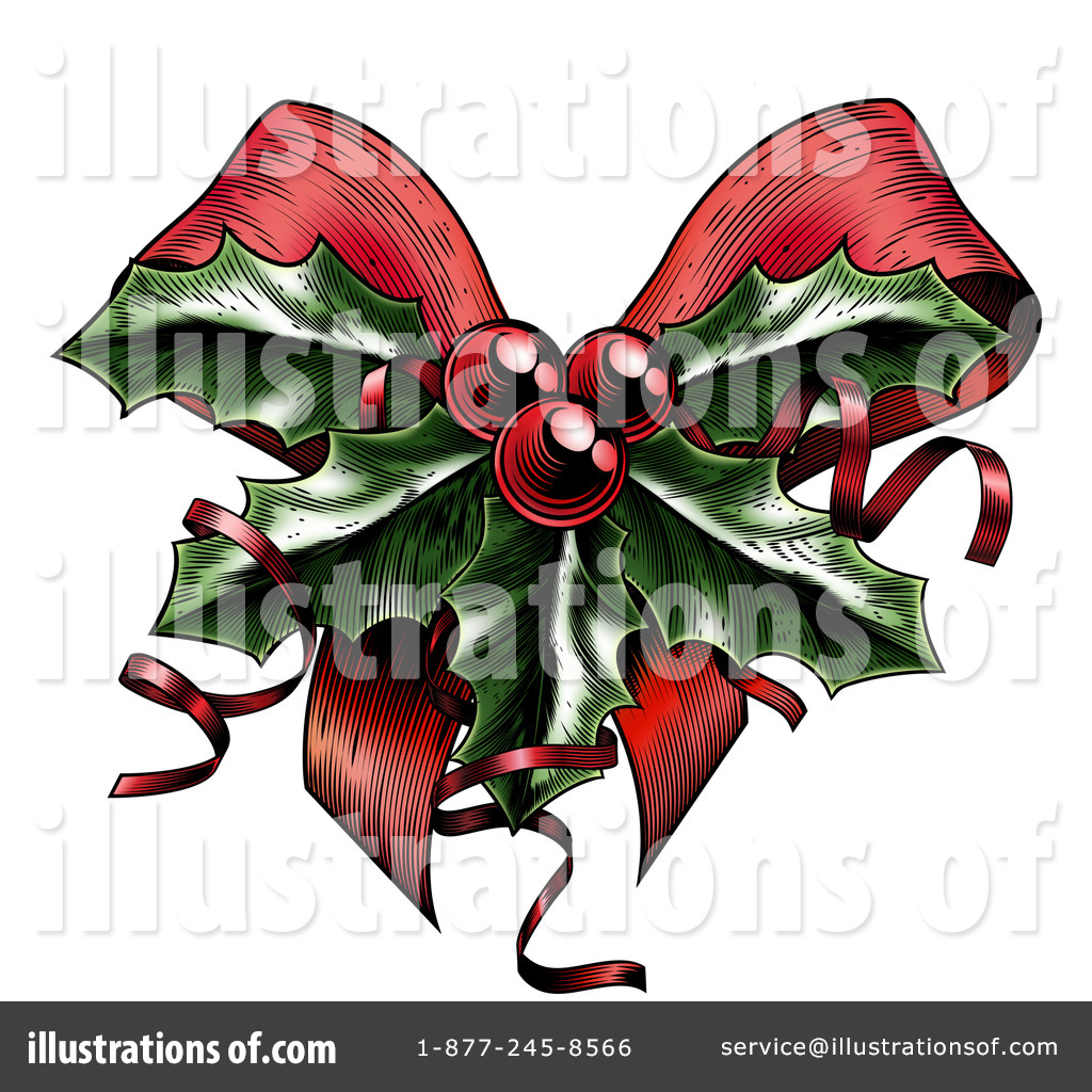 Christmas Holly Clipart Free.Christmas Holly Clipart 1219177 Illustration By