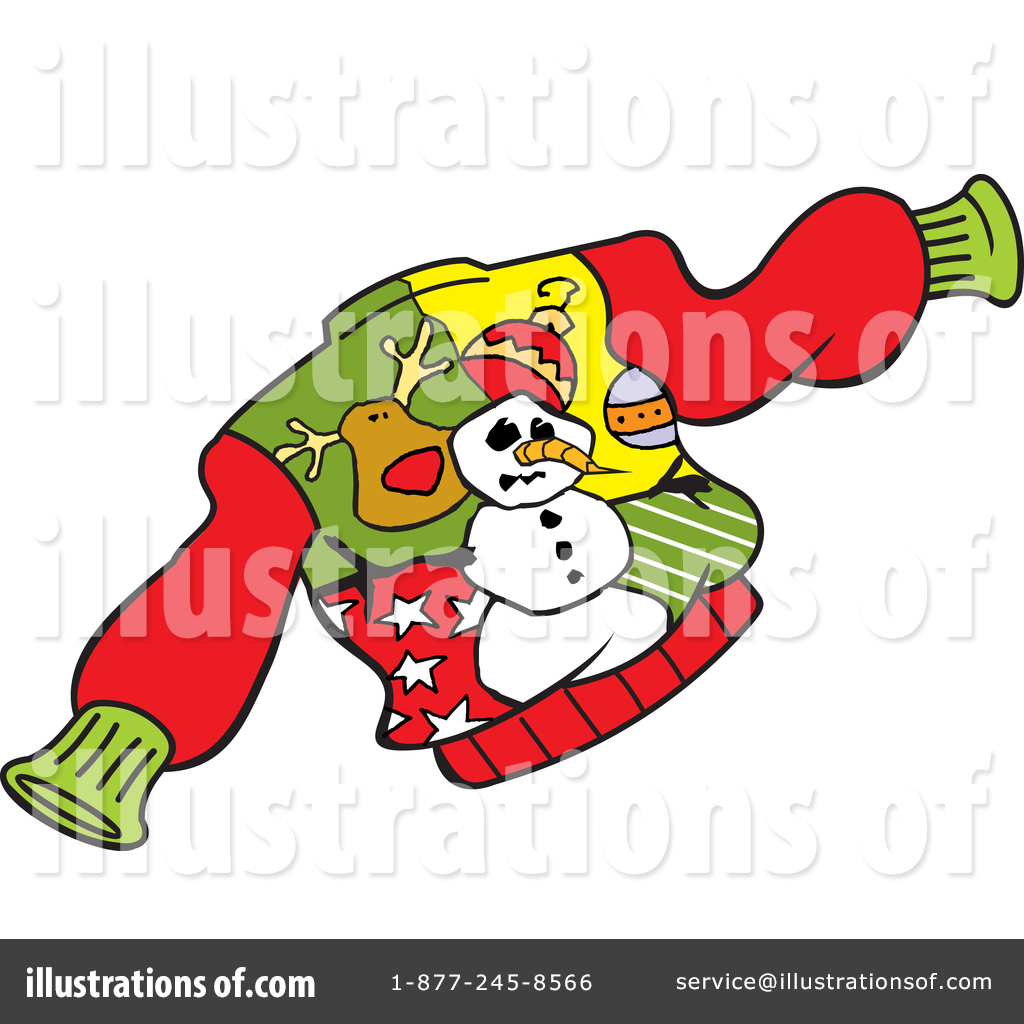 Christmas Sweater Clipart.Christmas Sweater Clipart 1431347 Illustration By Johnny