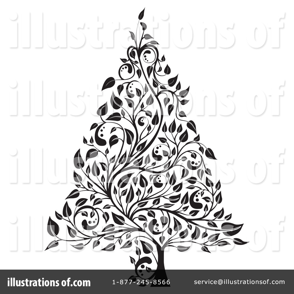christmas tree clipart 78266 illustration by milsiart