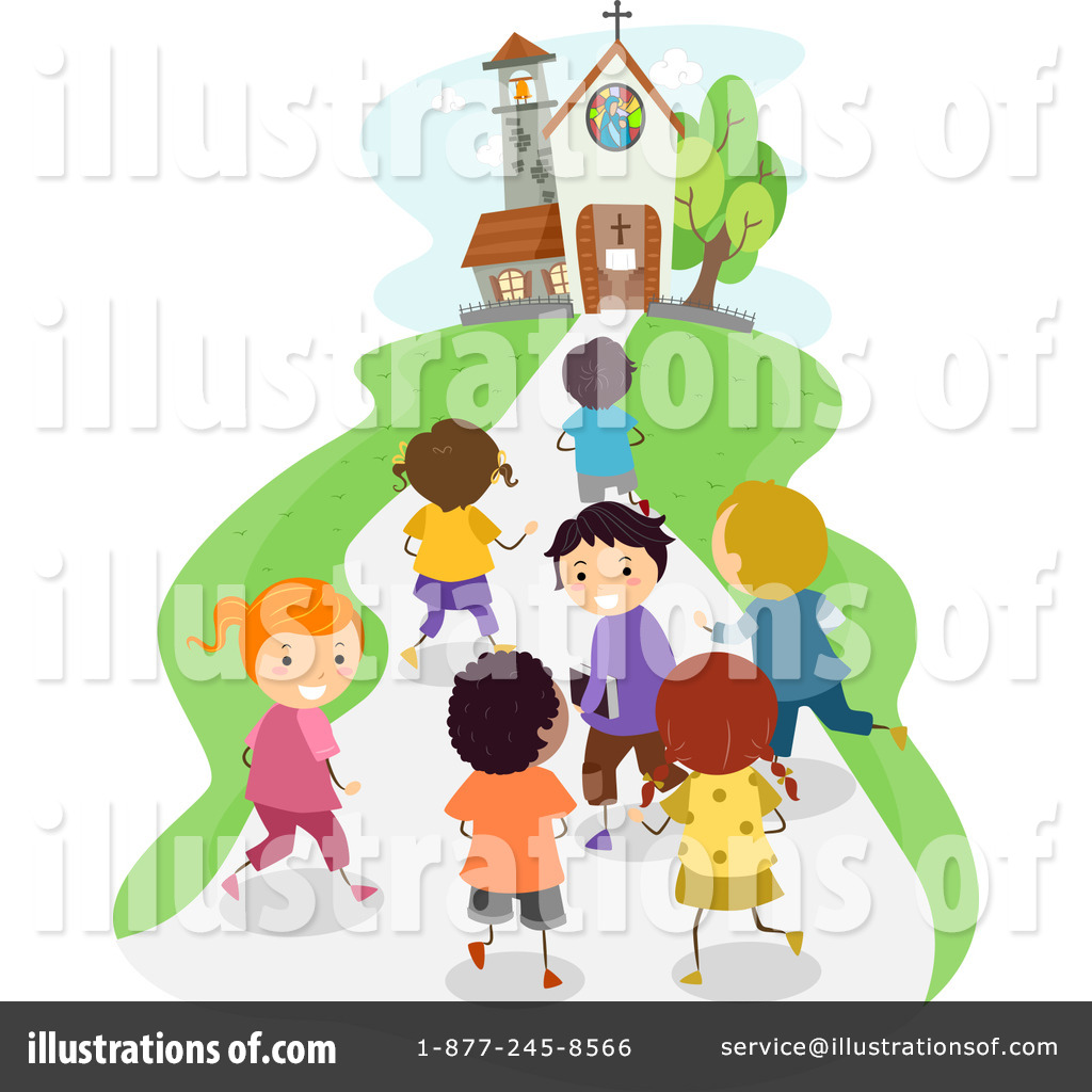 Church Clipart 1221288 Illustration By Bnp Design Studio