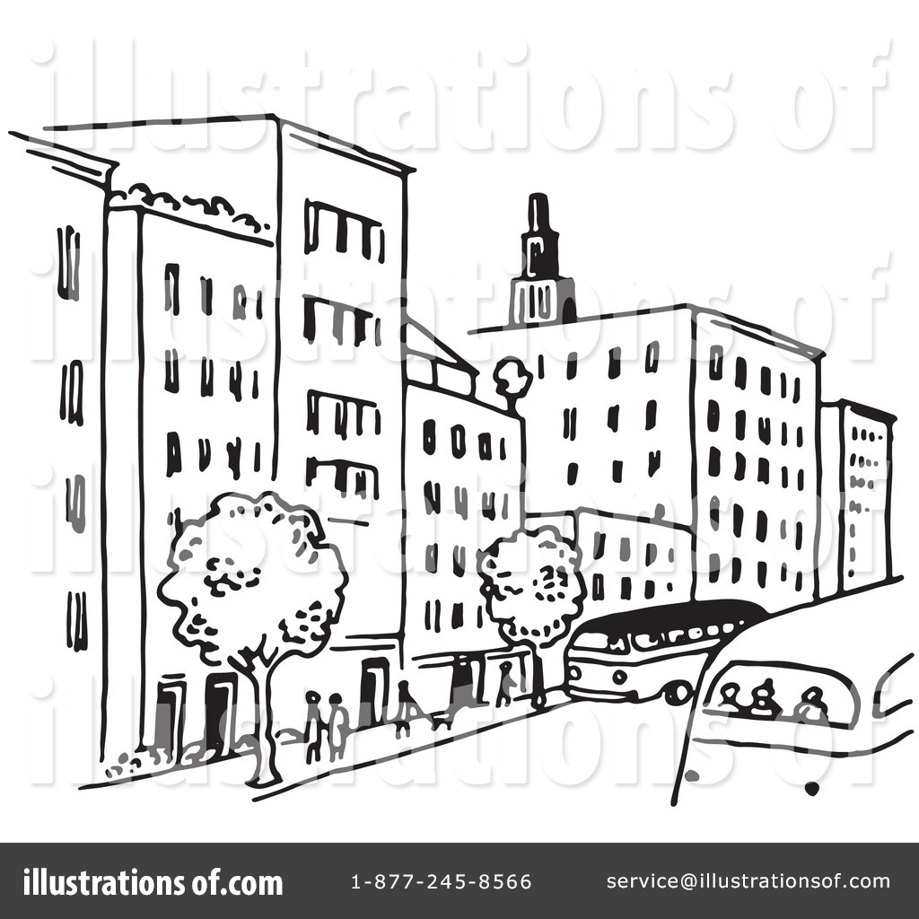 City Clipart #1220984 - Illustration by Picsburg