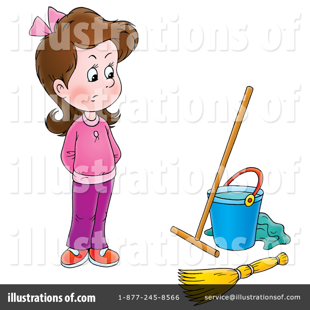 Cleaning Clipart 229864 Illustration By Alex Bannykh