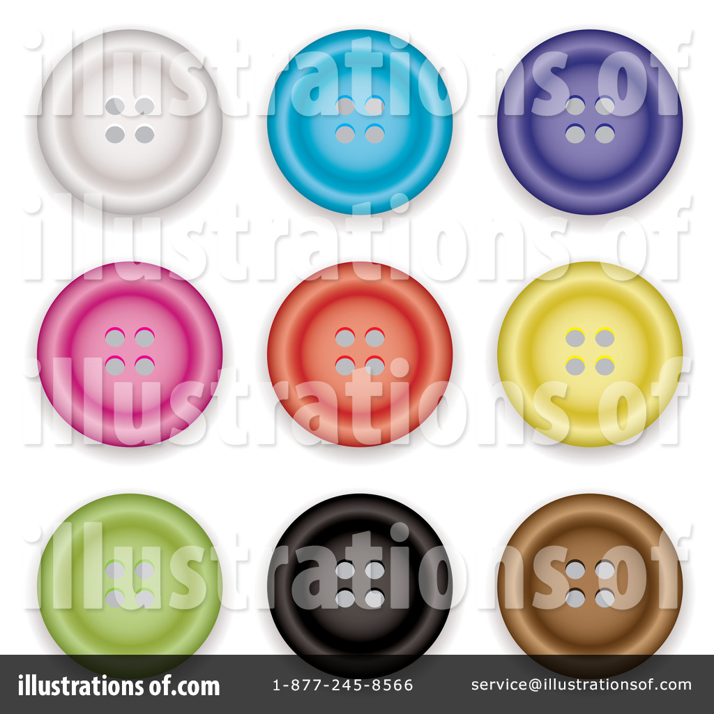 Clothes Buttons Clipart #91773 - Illustration by michaeltravers