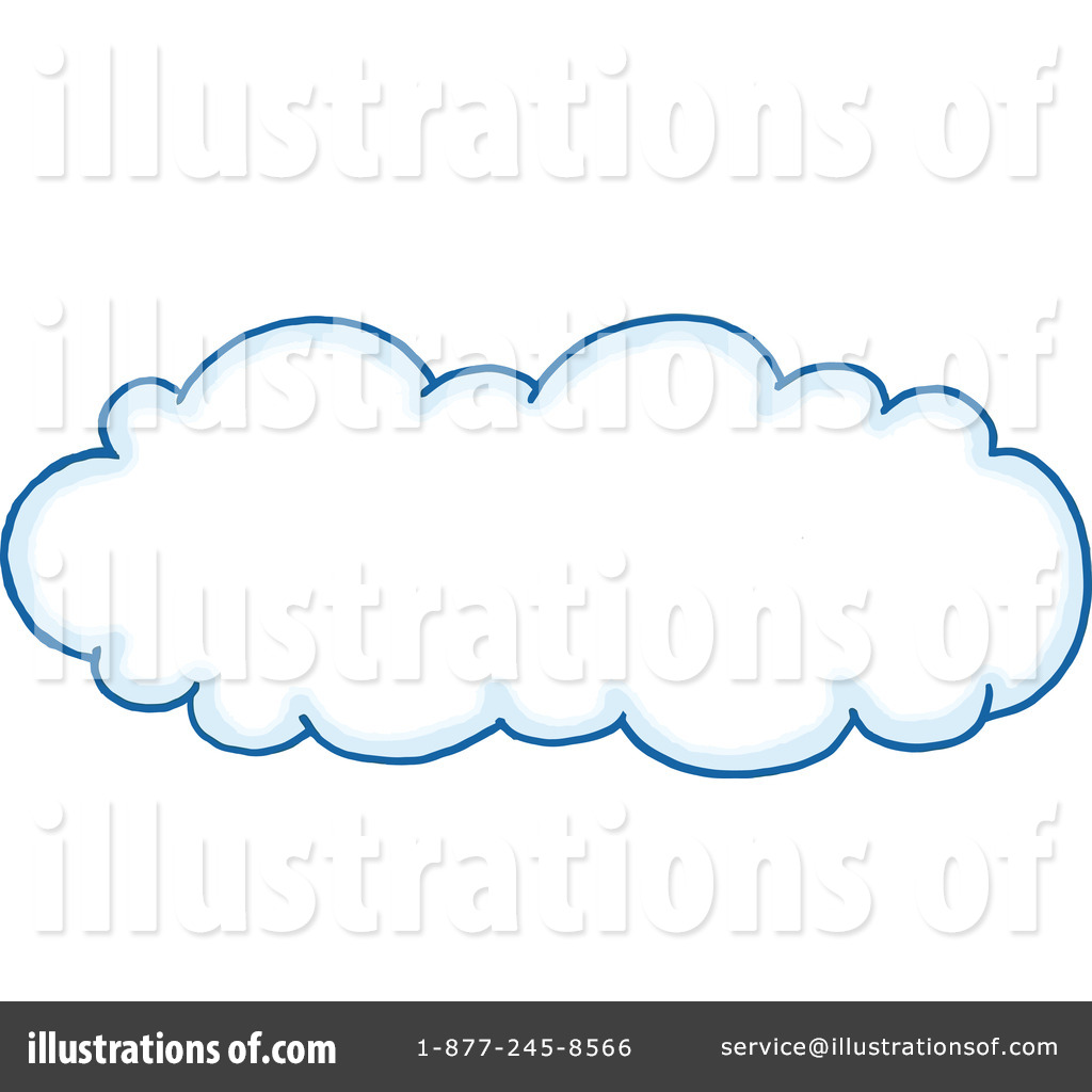 Cloud Clipart #1109289 - Illustration by LaffToon