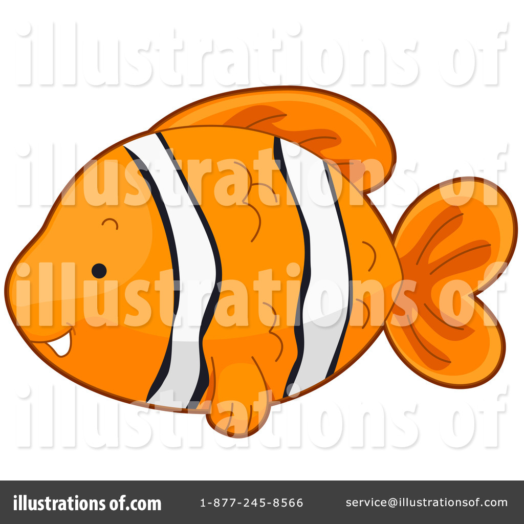 Clownfish Clipart #432908 - Illustration by BNP Design Studio