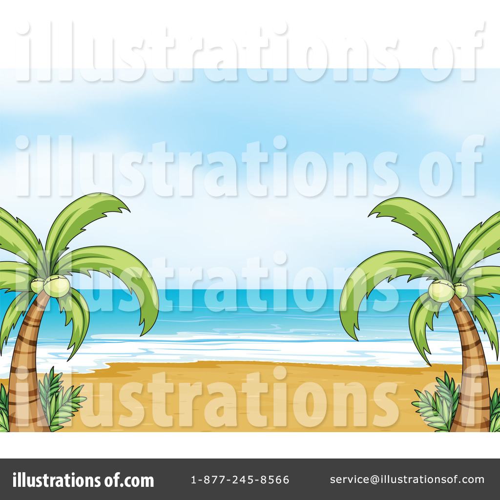 Coast Clipart #1133429 - Illustration by colematt