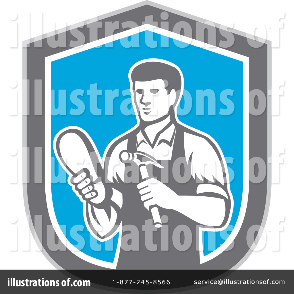 Cobbler Clipart #1255892 - Illustration by patrimonio