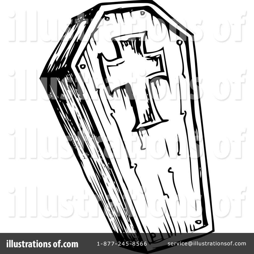 Clip Art Coffin Clipart coffin clipart 1124534 illustration by visekart royalty free rf visekart