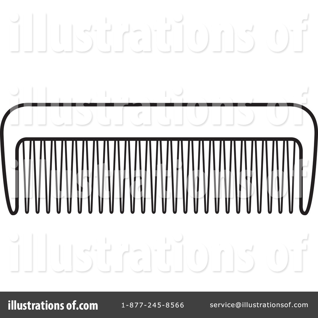 Comb Clipart #1052724 - Illustration by Lal Perera