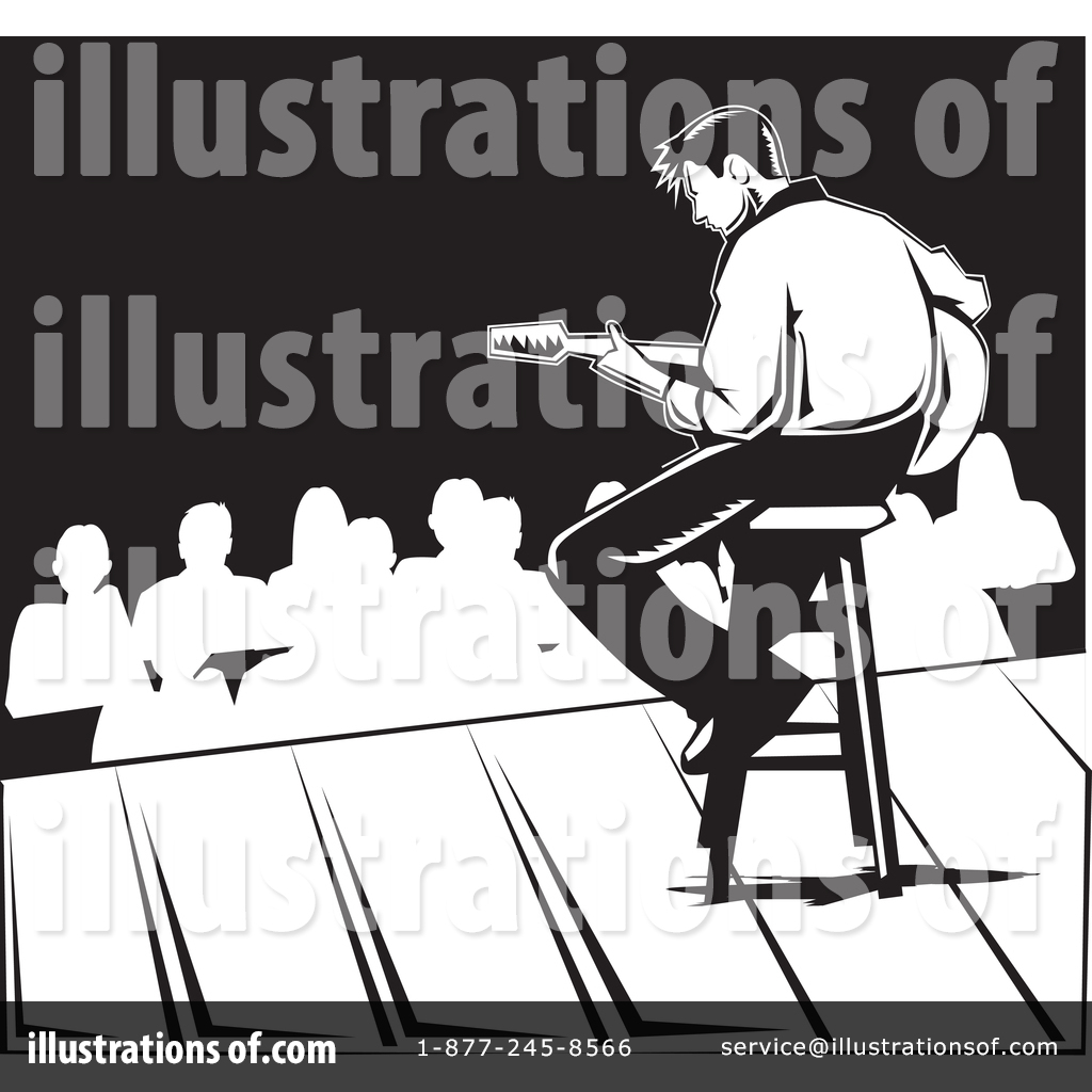 Black And White Illustration Of Party Crowd Cheering At Concert. Royalty Free  Cliparts, Vectors, And Stock Illustration. Image 88611621.