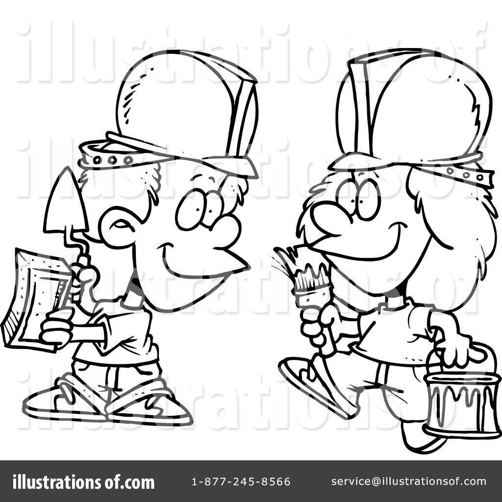 Masonry Clipart #440731 - Illustration by Ron Leishman
