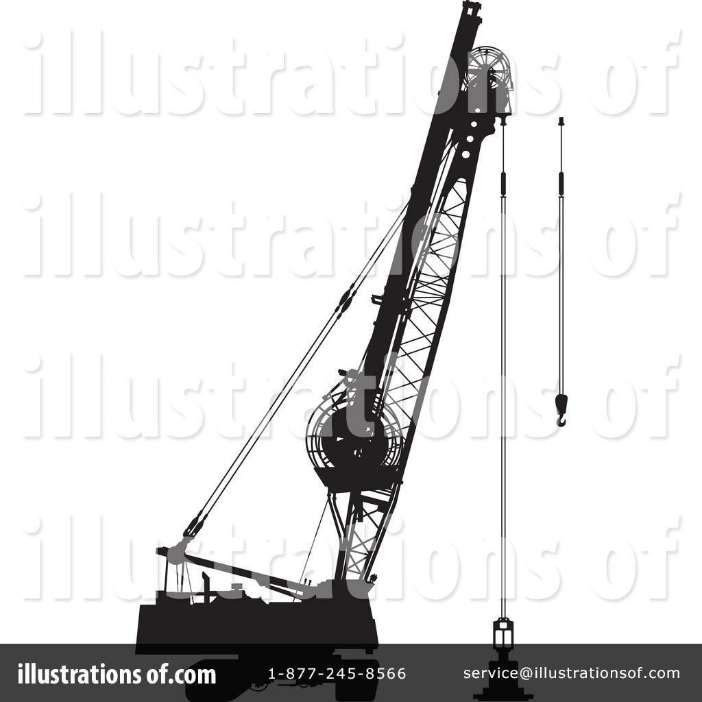 Prohibition of crane work symbol. Derrick strict ban sign. Caution of  construction machinery. Clip Art | k54830588 | Fotosearch