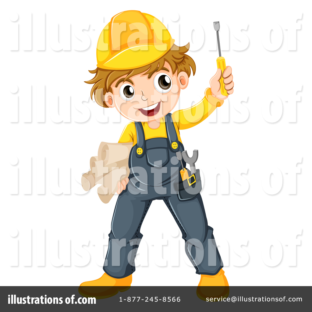 construction worker clipart 1342161 illustration by graphics rf rh illustrationsof com working clipart images construction worker clipart