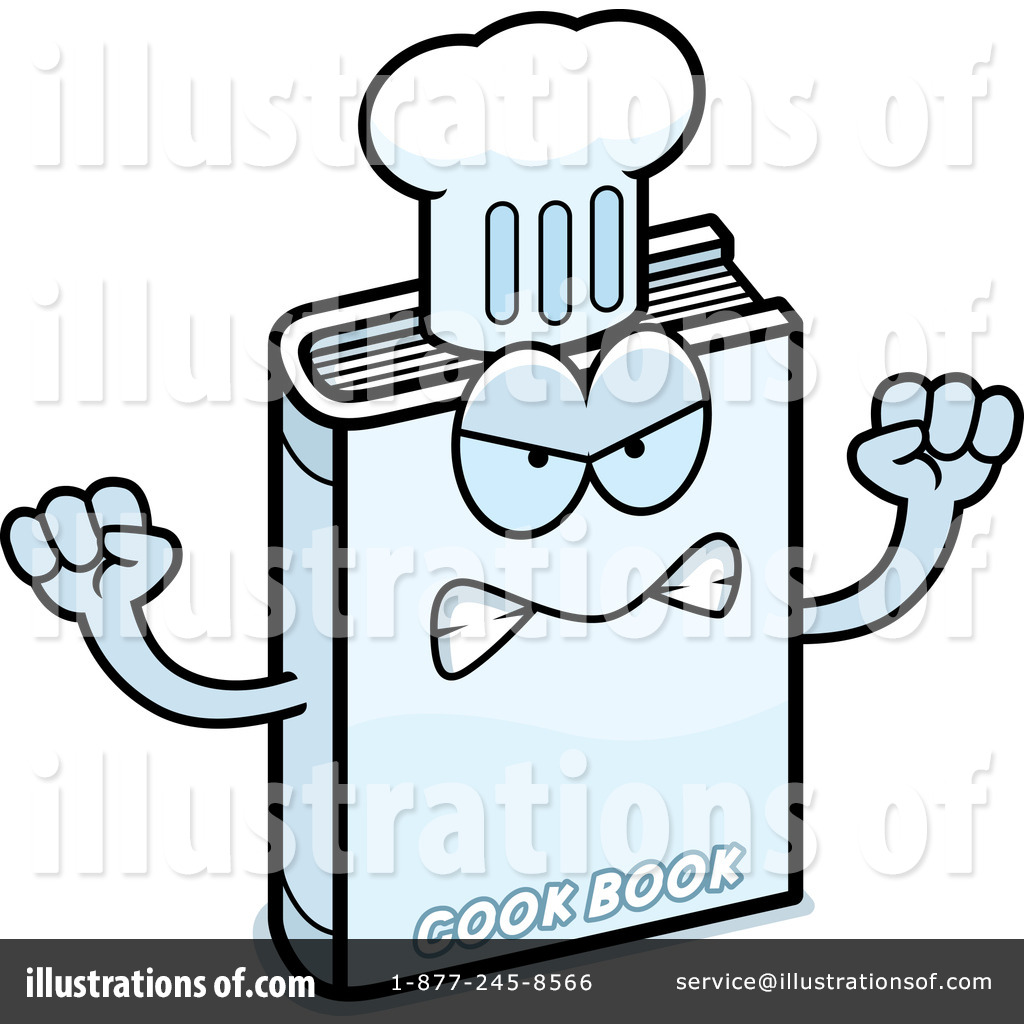 Cook Book Clipart #1182450 - Illustration by Cory Thoman