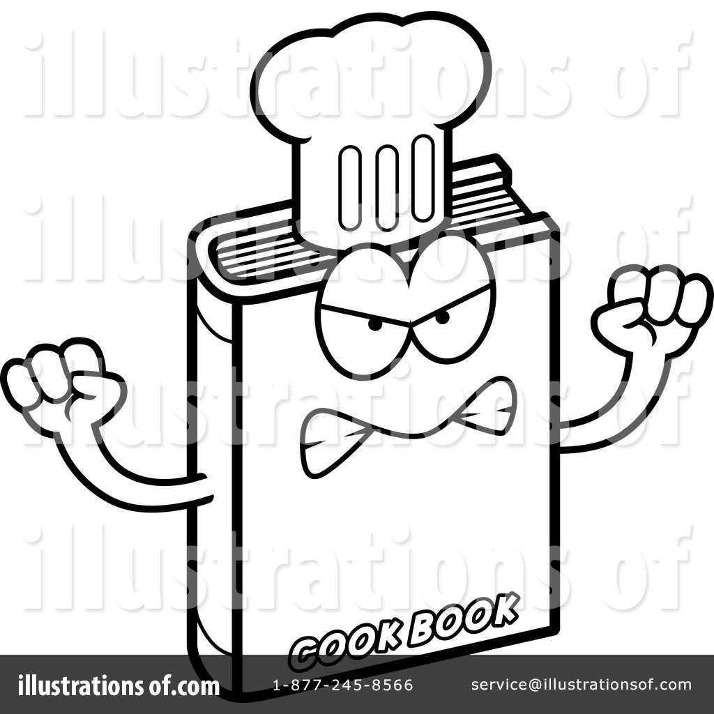 Cook Book Clipart #1182551 - Illustration by Cory Thoman