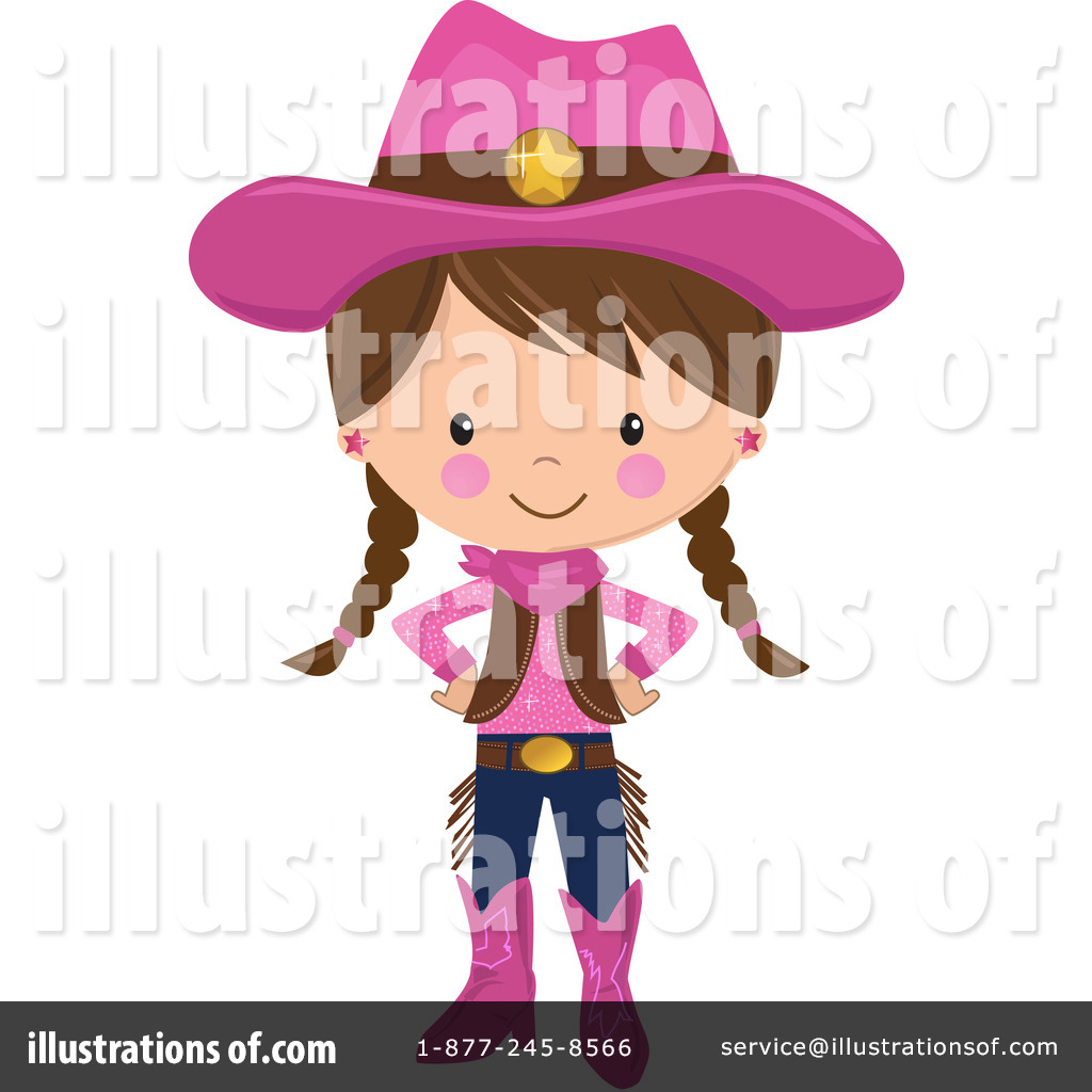 Cowgirl Clipart #1212546 - Illustration by peachidesigns