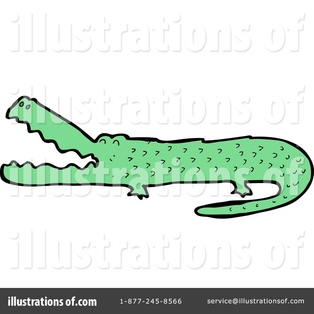 Crocodile Clipart #1133871 - Illustration by lineartestpilot