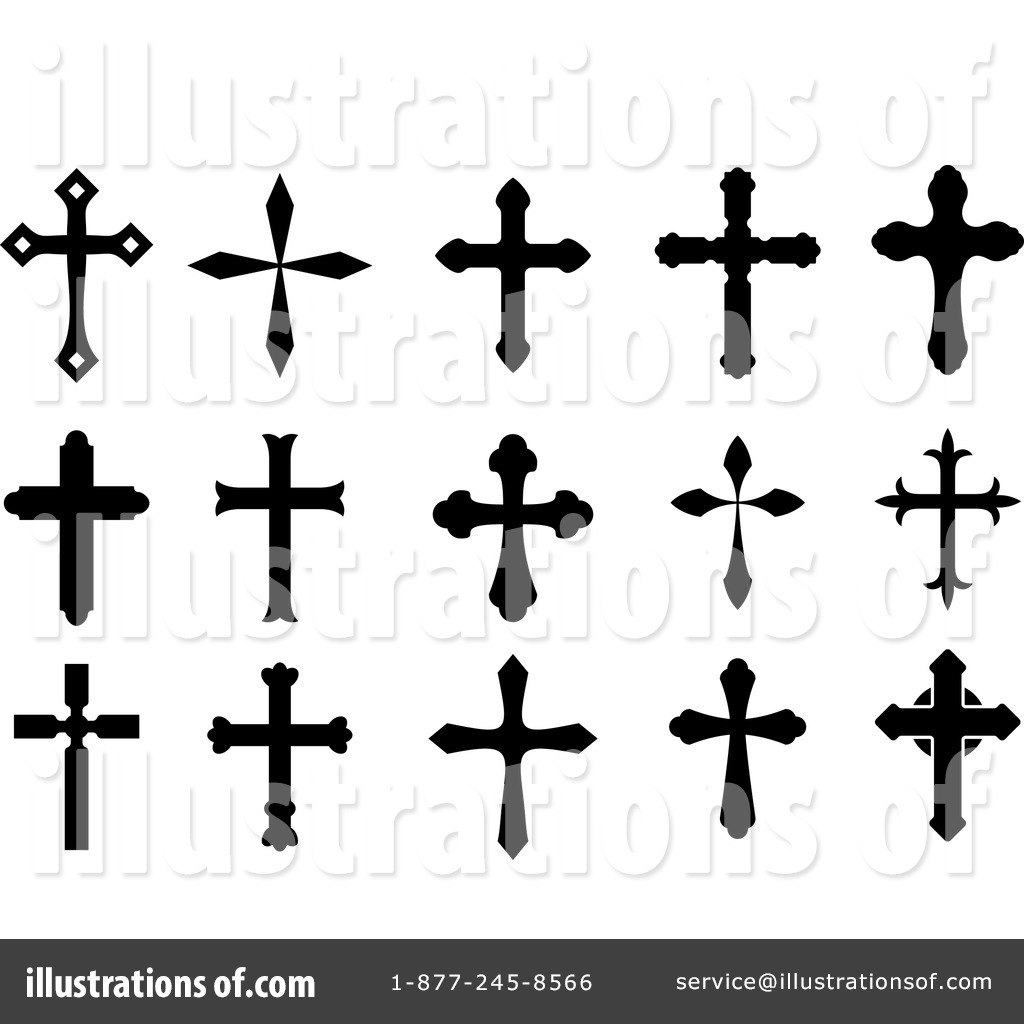 cross clipart 1064446 illustration by vector tradition sm rh illustrationsof com free clipart 3 crosses free clipart of crosses